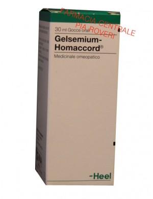 GELSEMIUM homaccord gocce HEEL